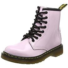 Dr. Martens Girl's Delaney 8-Eye Leather, Fashion Boots