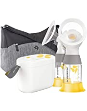 Medela Pump In Style New with Maxflow Technology, Closed System Quiet Portable Double Electric Breastpump, with PersonalFit Flex Breast Shields, 16 Count (Pack of 1)