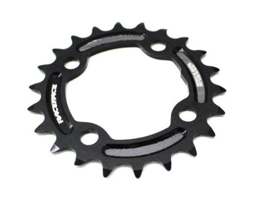 Race Face 22t Turbine Ring, 64 BCD, Black (9 Speed 64mm 4 Bolt)