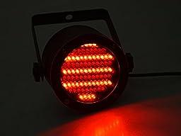 TMS 4pcs 86 RGB LED Stage Light Par Dmx-512 Lighting Laser Projector Party Club Dj
