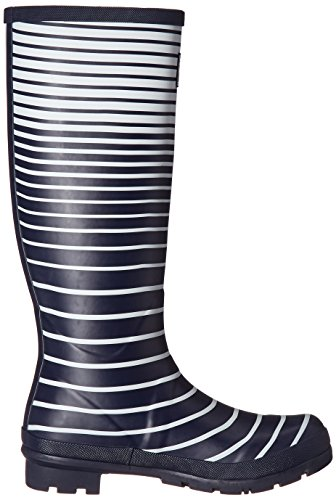 Rain Navy Welly Boots Print Joules Women's Ombre French Stripe YwtxYvzqA