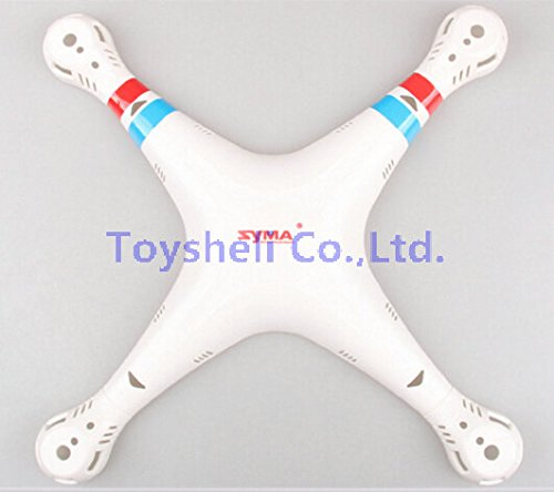 Generic SYMA X8C X8W Body Shell Cover RC Quadcopter Spare Parts X8W RC Helicopter Backup Parts Upper Cover White