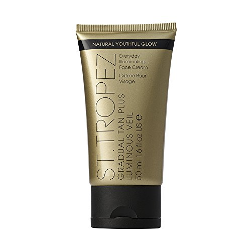 St. Tropez Gradual Tan Plus Luminous Veil Face Cream, 1.6 fl. oz.