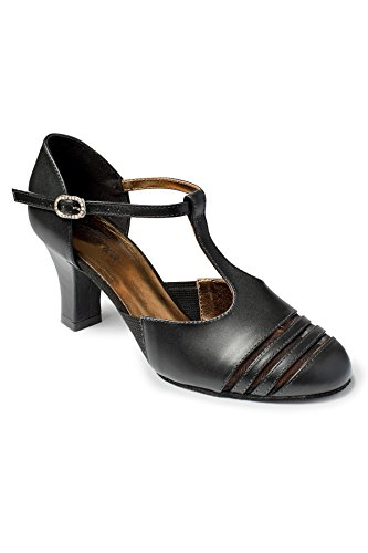 So Danca Bl186, Chaussures de Danses de Société et Latines Femme Noir (Black Black)