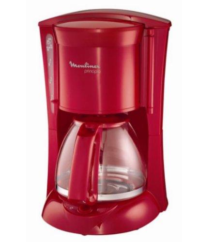 Moulinex FG111Z30 Principio - Cafetera de filtro, color rojo ...