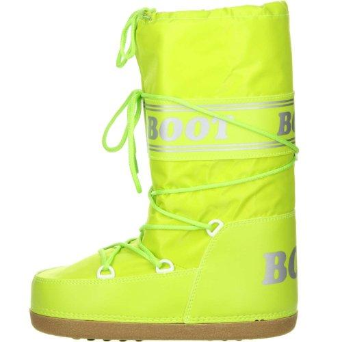 Vista Damen Herren Snowboots Winterstiefel grün Grün