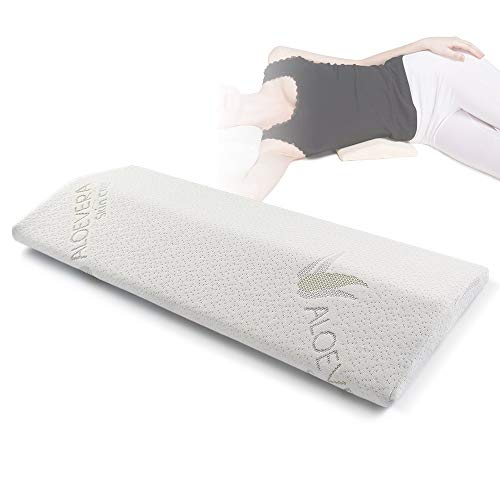 EasyLife185 Soft Memory Foam Sleeping Pillow for Lower Back Pain,Multifunctional Lumbar Support Cushion for Hip,Sciatica and Joint Pain Relief,Orthopedic Side Sleeper Bed Pillow