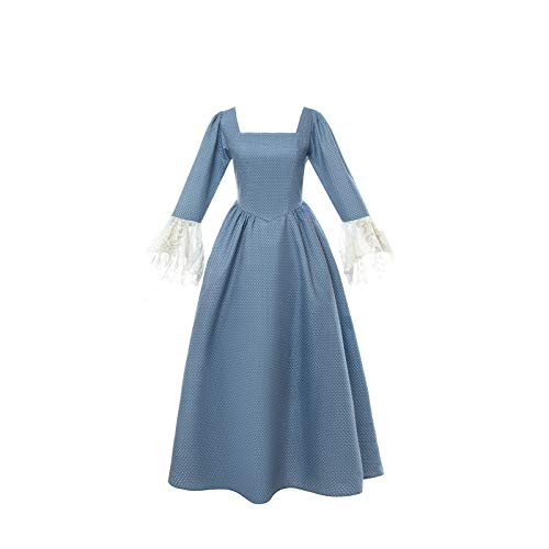 Colonial Clothing Costumes - SHANSHAN Woman's Pioneer Costume Colonial Dress