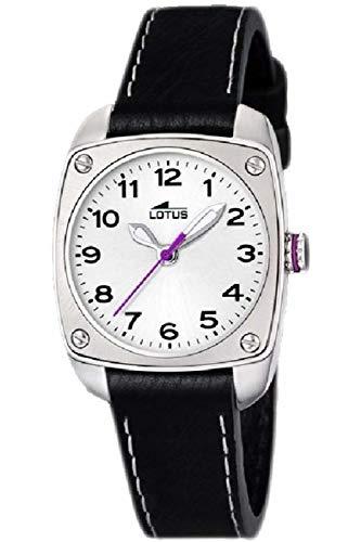 Lotus Cadet Womens Analog Quartz Watch with Leather Bracelet 15735/E