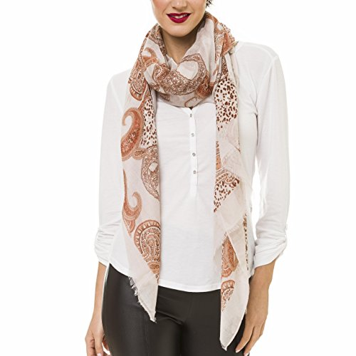 Scarf for Women Lightweight Paisley Fashion Fall Winter Scarves Shawl Wraps (NF45-1) ()