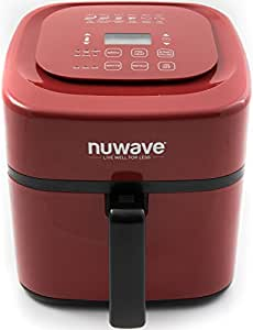 Amazon.com: Nuwave 6 qt. Brio Air Fryer -Red: Kitchen & Dining