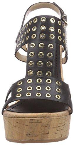 mujer B4701P negro vestir negro Premi de cuero Bruno de Sandalias para 8xFSwWqZ