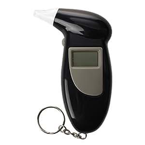SODIAL mini breathalyser breathalyzer blood alcohol tester f. keys