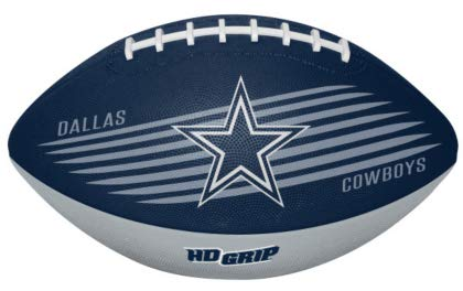 (Rawlings NFL Dallas Cowboys 07731065111NFL Downfield Football (All Team Options), Blue, Youth)
