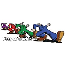 """Keep on Trucking Decal 7"""" Free Shipping from the United States"""