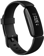Fitbit Inspire 2 - tracker zdrowia i aktywności fizycznej z bezpłatnym rocznym dostępem do usługi Fitbit Premium, śledzeniem tętna 24/7 i żywotnością baterii aż do10 dni
