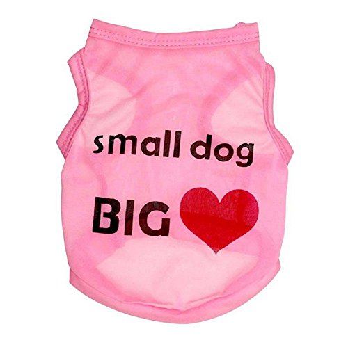 Dog Clothes Cute Cat Apparel Puppy Clothing Shirt for Small Pet Funny Outfit Tshirt