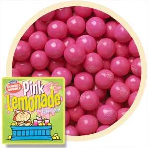 Dubble Bubble Pink Lemonade Gumballs, 1LB (Gumballs Lemonade)