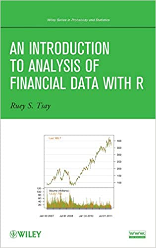 Amazon com: An Introduction to Analysis of Financial Data