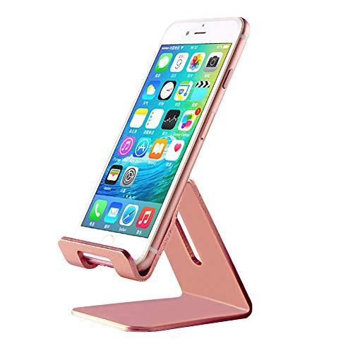 - Efanr Universal Solid Aluminum Alloy Metal Mobile Phone Desktop Dock Stand Mount Holder Stander Cradle for iPhone Samsung LG HTC Sony and Other Smartphones & Most 7