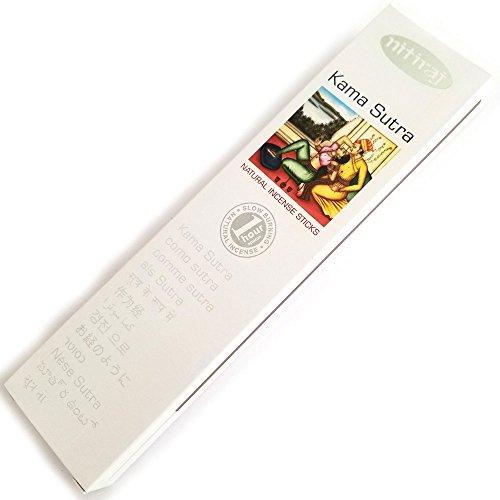 Nitiraj Platinum Natural Incense Sticks Slow Burning 1hr. 2Pack Kama Sutra