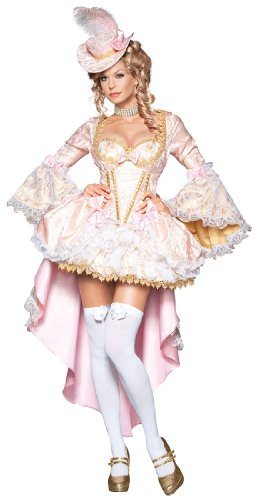 InCharacter Women's Vixen of Versailles Vampiress Costume, Pink/White, X-Small