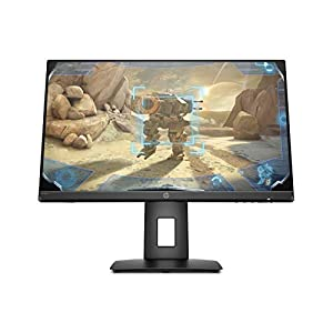 HP 23.8-inch Borderless Full HD Gaming Monitor -AMD Free Sync, 144Hz Refresh Rate, 1ms Response time, 250 Nits, Adaptive Sync, Integrated Speakers with HDMI, Display Ports – HP 24x Display (5ZU99AA)