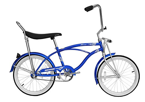 Micargi Hero Beach Cruiser Bike  Blue  20 Inch
