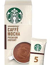 Starbucks® Caffè Mocha Premium Instant Coffee Mix, box of 5 sachets, 110g