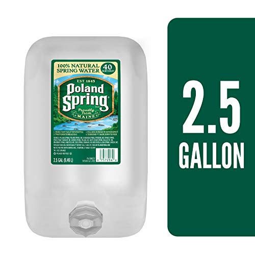 Poland Spring Natural Spring Water, 320 Fluid Ounce ()