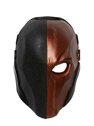 Deluxe Slade Mask Helmet Costume Accessories for Adult Full Head Orange -