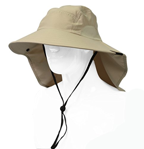 d0c28f24707f3 Sun Blocker Outdoor Sun Protection Fishing Cap with Neck Flap ...