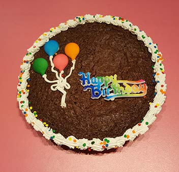 Fabulous Happy Birthday Cookie Cake Brownie Amazon Com Grocery Personalised Birthday Cards Paralily Jamesorg