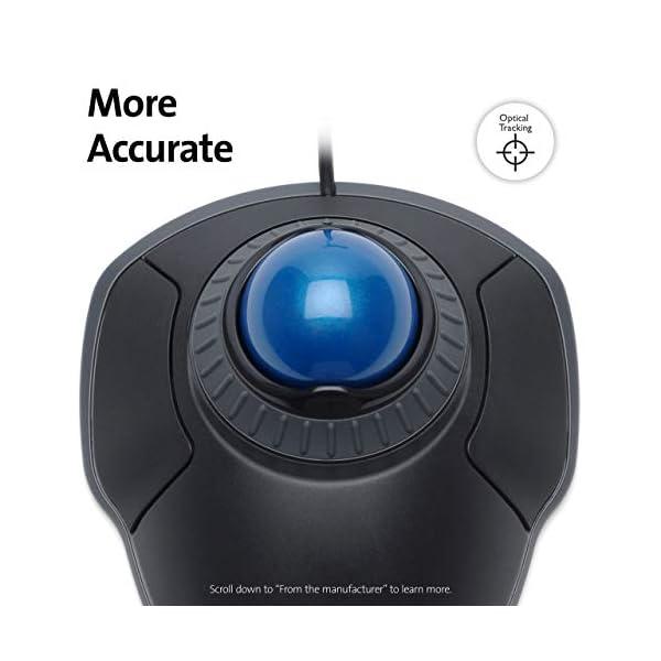 Kensington Orbit Trackball Mouse with Scroll Ring (K72337US)