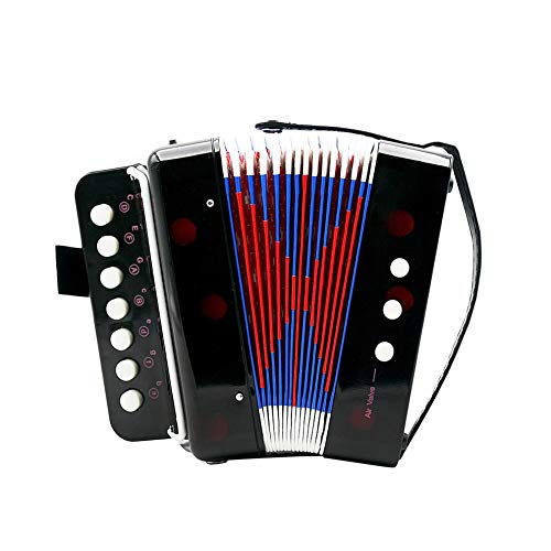 1PC Mini Kids Accordion 7-Key 3 Bass Educational Childrens Beginner Practice Music Instrument Band Toy by Quannaus (Image #7)
