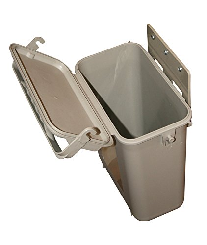 YukChuk Kitchen Food Waste Compost Bin, Biege