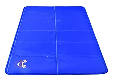 Arf Pets Pet Dog Self Cooling Mat Pad for Kennels, Crates and Beds by Arf Pets