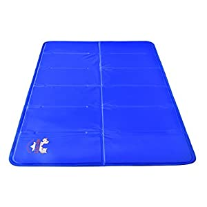 Arf Pets Pet Dog Self Cooling Mat Pad for Kennels, Crates and Beds 23x35 3