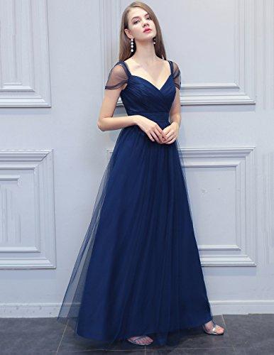 La Demoiselle D'honneur De Tulle Magnifique Robe De Femmes Bridesmay De Robe De Bal Épaule Valentine