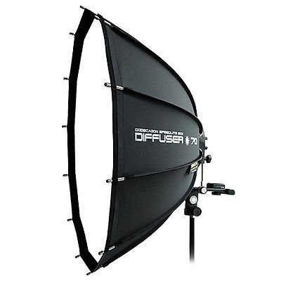 SMDV Professional Softbox Dodecagon Diffuser 70 26'' for Speedlight lite Flash by SMDV