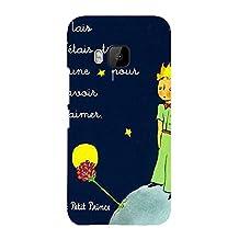 Htc One M9 Cover,Le Little Prince Quotes Phone Case Classic Unique Animation Movies The Little Prince Le Petit 3D Protect Case Cover