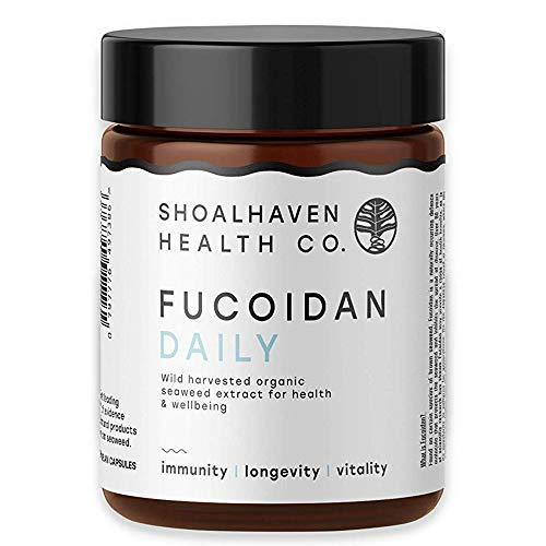 Fucoidan from Organic Maritech, Potent Immunity Booster, Pure Organic Brown Seaweed Extract, 60 Veggie Capsules