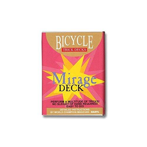 Le jeu Bicycle Mirage (Radio traité) (Bleu)