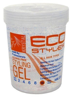 Eco Styler Styling Gel 32 oz. Krystal Clear (3-Pack) with Free Nail File by Eco Styler