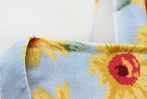 Wangc Fashion Fashion Pattern Bag Shoulder Bag Wangc Linen Cross Sunflower Sr6pSq