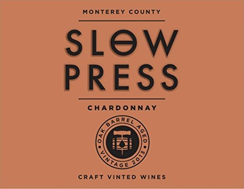 Slow Press Chardonnay White Wine, 750 mL