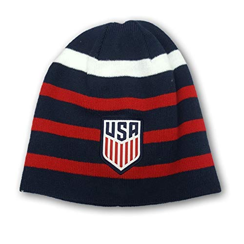 (Icon Sports USA International Soccer Team Fitted Knit Beanie Winter Cap Hat)