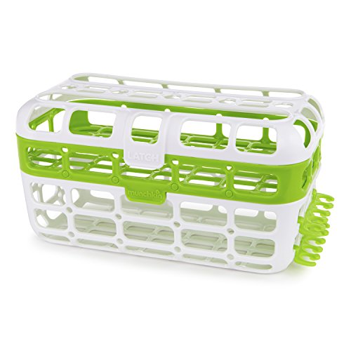 - Munchkin High Capacity Dishwasher Basket, Green