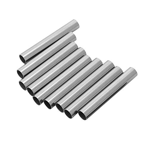 10Pcs/Set Tattoo Machine Grip Needle, Stainless Steel Stem Tube Body Art Accessory for Cartridge Machine Needles Tattoo Supplies
