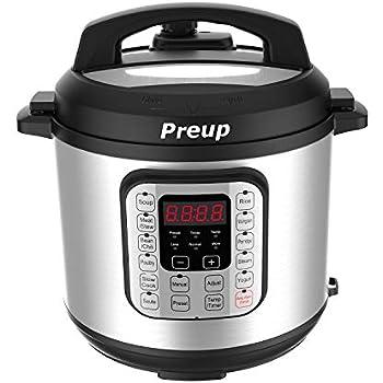Amazon.com: ALBOHES Electric Pressure Cooker, Programmable ...